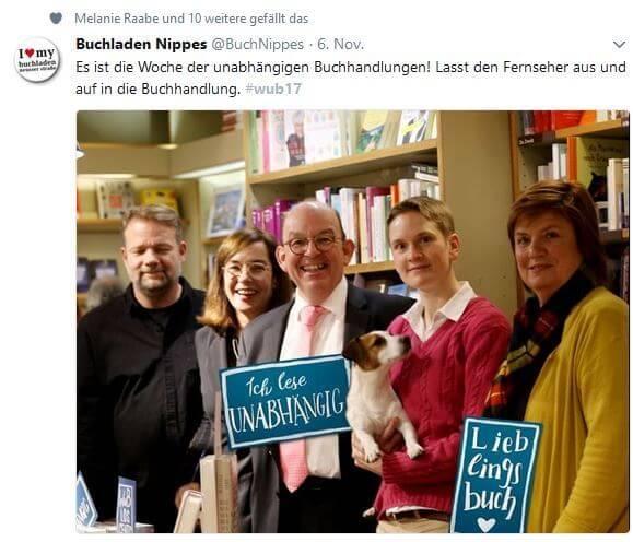 Denis Scheck bei der WuB im Buchladen Nippes