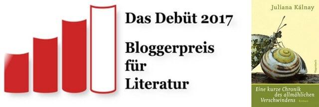 Juliana Kalnay, Bloggerpreis für Literatur