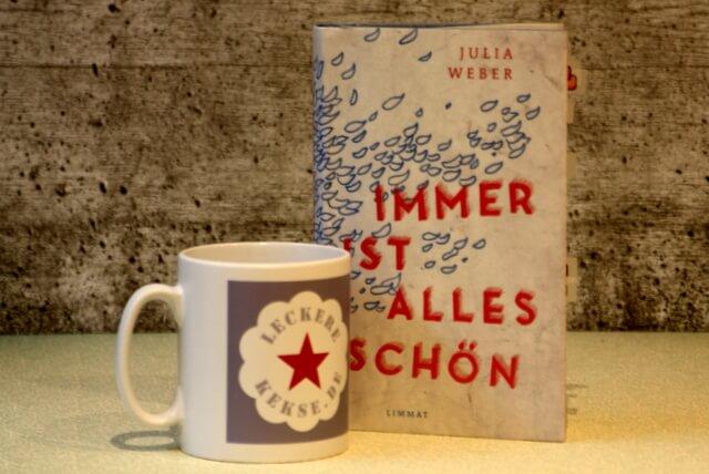 Immer ist alles schöen von Julia Weber steht auf der Shortlist des Buchpreises von Das Debüt