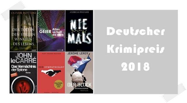 Deutscher Krimipreis 2018
