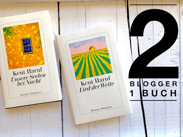 2 Blogger lesen das gleiche Buch: Kent Harf