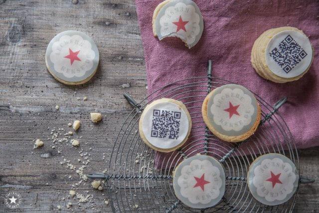 QR-Code-Kekse