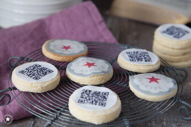Logo-Kekse für die Buchmesse
