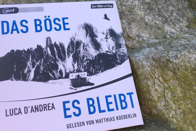 Luce d'Andrea: Das Boese, es bleibt, Hoerbuch Rezension
