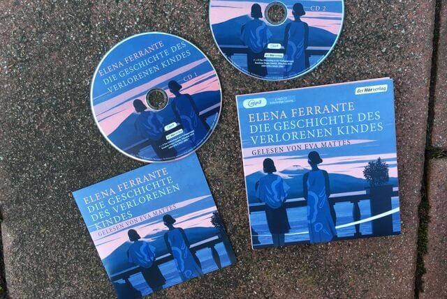 Elena Ferrante: Die Geschichte des verlorenen Kindes, Hörbuch, Rezension