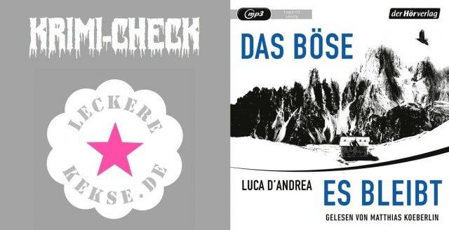 Luca d'Andrea: Das Boese, es bleibt