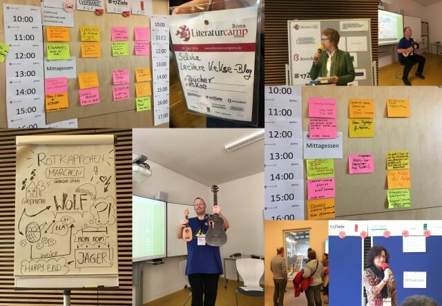 Impressionen Literaturbarcamp Bonn, #litcampBN18