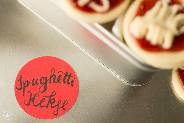 Spaghettikekse für Italienfans