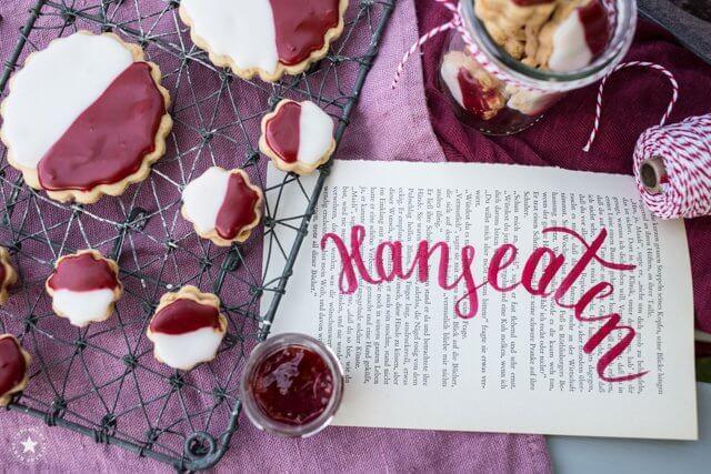 Hanseaten: Kekse mit Zuckerguss