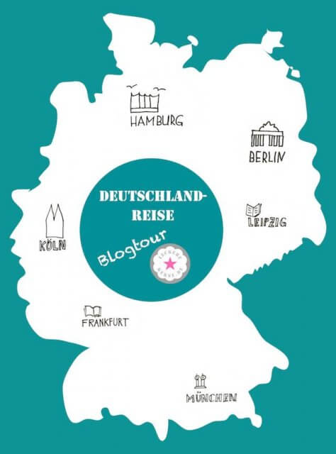 Logo Blogtour Deutschlandreise