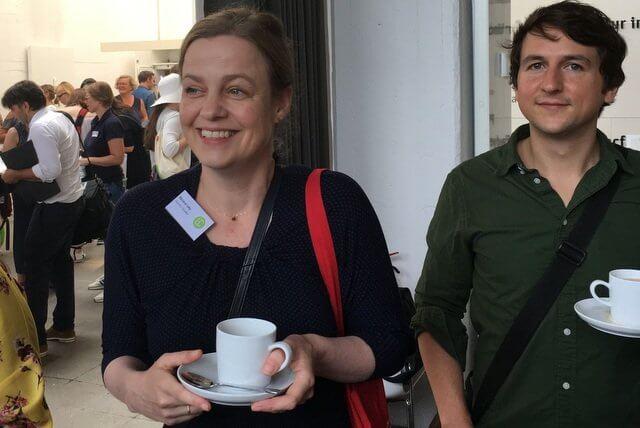Marana Leky und Tilman Strasser bei der #LBC18
