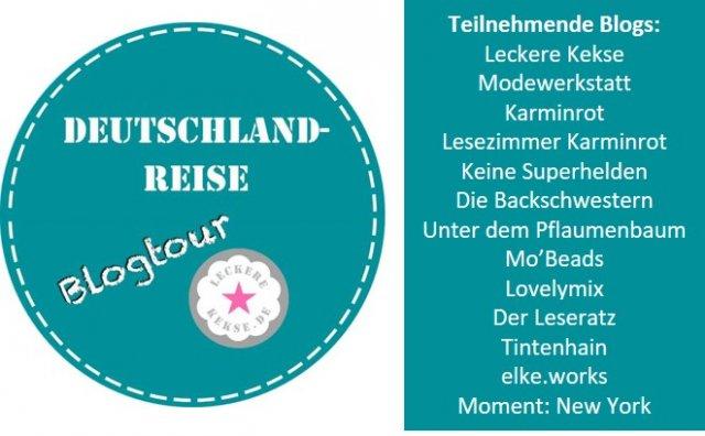Blogtour Deutschlandreise, Teilnehmende Blogs