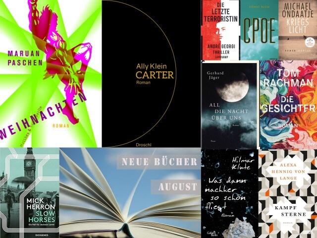 Neue Bücher im August 2018