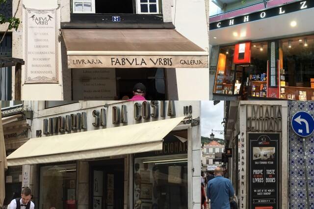 Buchhandlungen in Lissabon