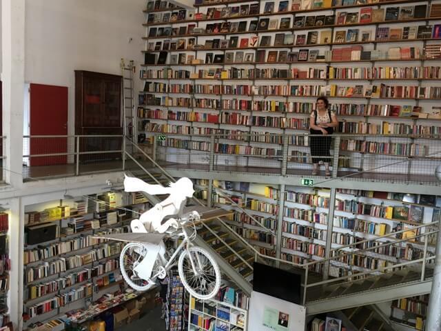 Buchhandlung Ler Devagar Lissabon