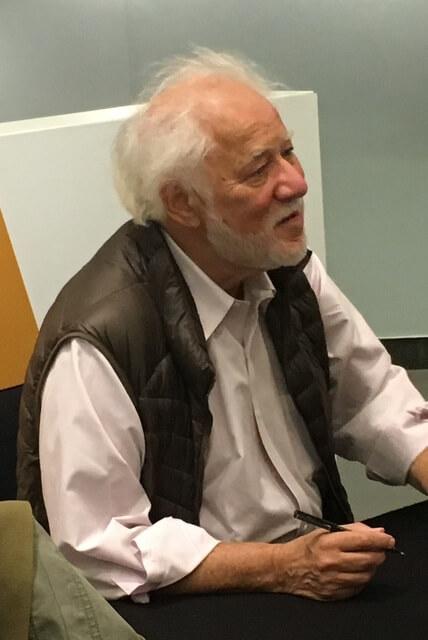 Michael Ondaatje bei einer Lesung von kriegslicht in Köln