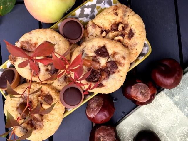 Rezept Karamell Kekse, schnelle Kekse