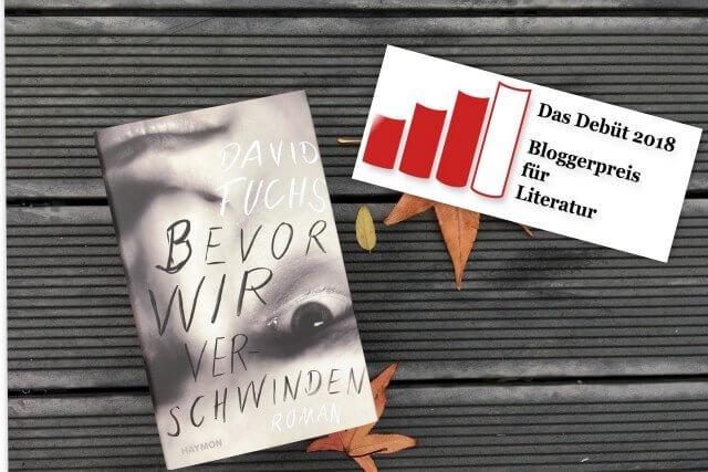 David Fuchs: bevor wir verschwinden, Rezension, Debütroman