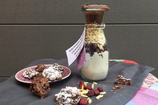 Rezept, Backmischung, Cranberry-Mandel-keks, Cookies