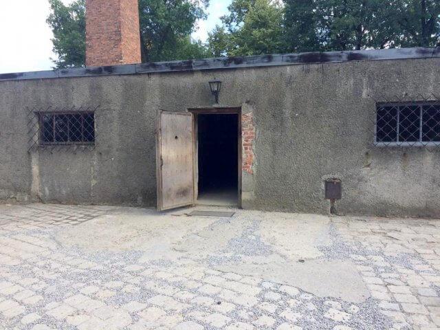 ter von Yishai Sarid, Gaskammer Birkenau