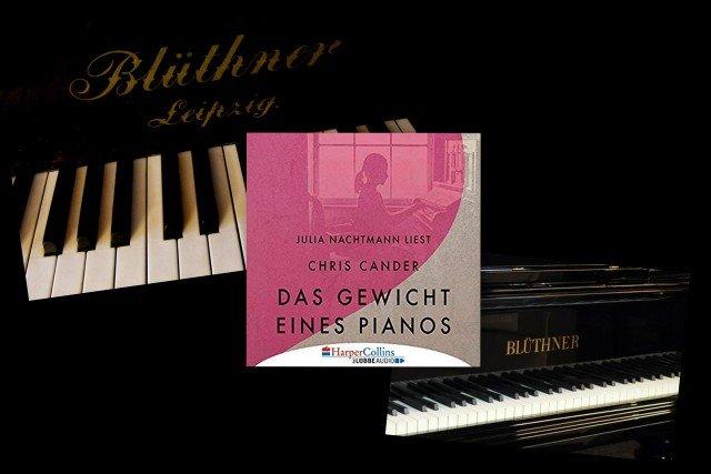 Chris Cander: Das Gewicht eines Pianos, Hörbuch, gesprochen von Julia Nachtmann, Rezension