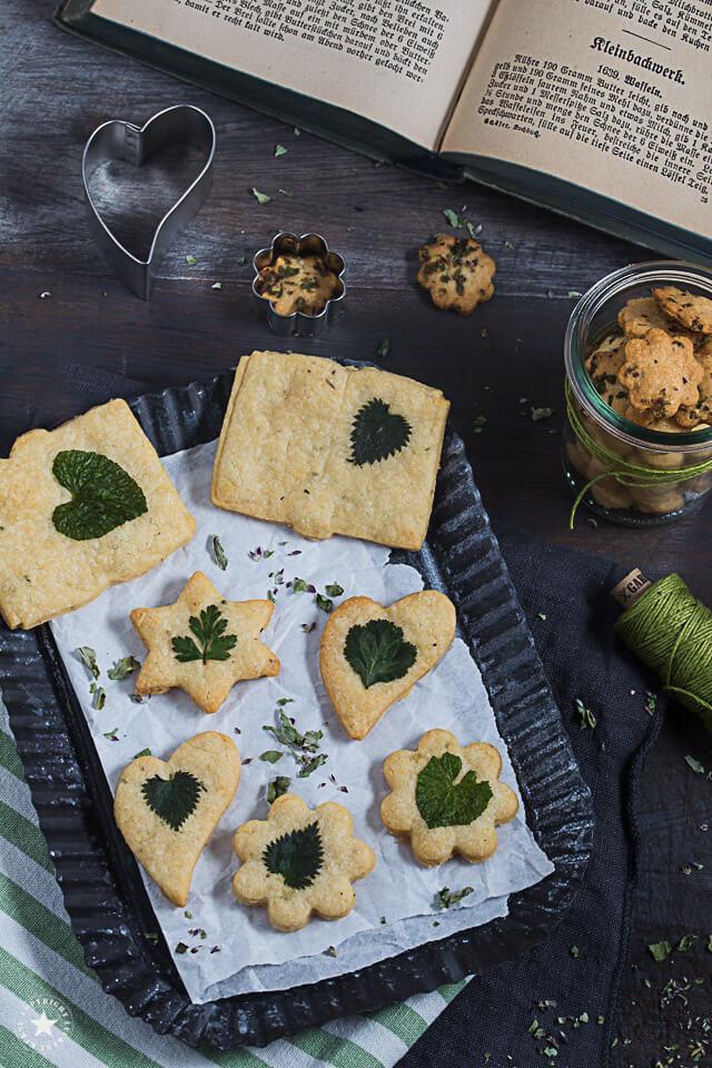 Käse-Kräuter-Kekse als herzhafte Keksvariante