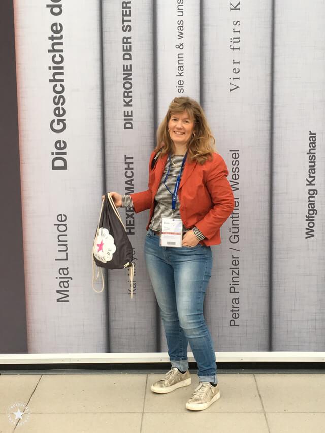 Buchwand in Leipzig