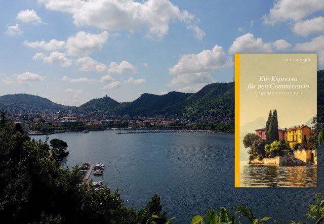 Interview, Dino Minardi, Ein Espresso für den Comissario, Pellegrinis erster Fall, Kampa Verlag