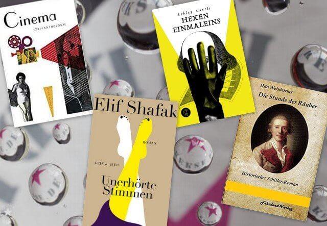 neue-Bücher im mai: Cinema, Shakespeare, Elif-Shafak, Schiller