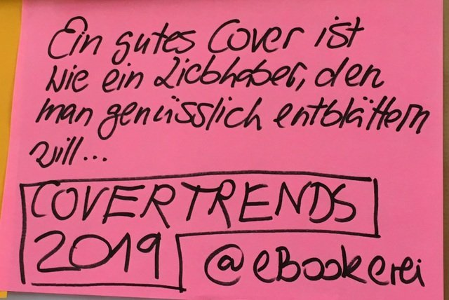 Covertrends, eBookerei, Literatur Barcamp 2019, #LitCampBN19