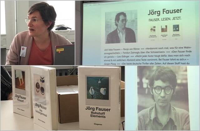 Fauser. Lesen.Jetzt. Diogenes Verlag, Bücher von Jörg Fauser, LBC19