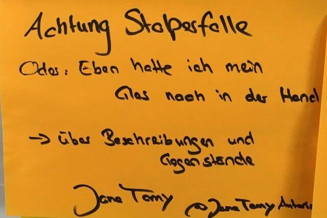 Literatur Barcamp Bonn 2019, Jane Tamy , #LitCampBN19