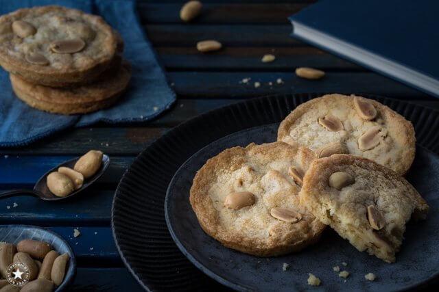 Zerowaste Rezept für Erdnuss-Karamell-Cookies