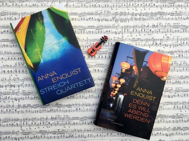 Anna Enquist: Denn es will Abend werden, Rezension, Roman, Luchterhand, Streichquartett