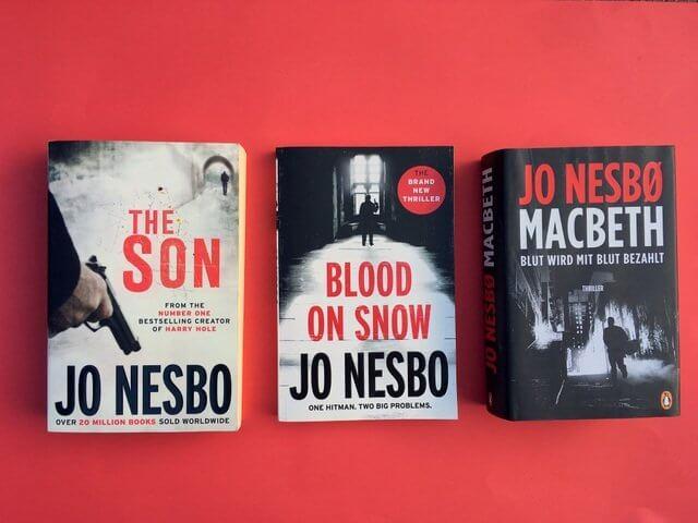 Jo nesbo: Macbeth, The Son, Der Sohn, Blood on Snow