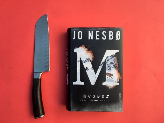 Jo nesbo: Messer, 12. Harry Hole Krimi, Krimicheck, Ullstein Verlag, Rezension