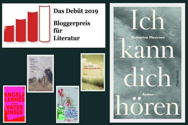 Katharina Mevissen: Ich kann dich hören, Wagenbach Verlag, Debütroman