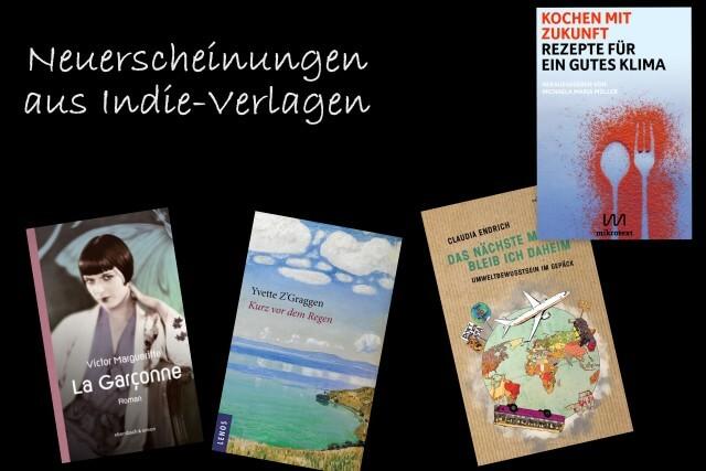 Neue Bücher aus Indie-Verlagen Februar 2020, Mikrotext, Ebersbach und Simon, edition Atelier, Lenos Verlag