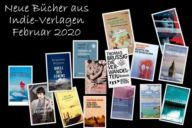 Neue Bücher aus Indie-Verlagen Februar 2020