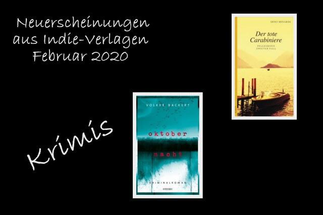 Neue Bücher aus Indie-Verlagen Februar 2020, Kampa Verlag, emons Verlag, Krimis