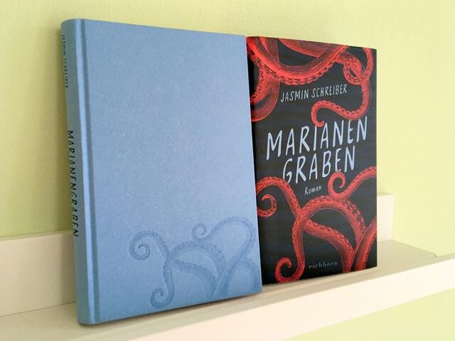 Jasmin Schreiber, Marianengraben, Debütroman, Eichborn Verlag