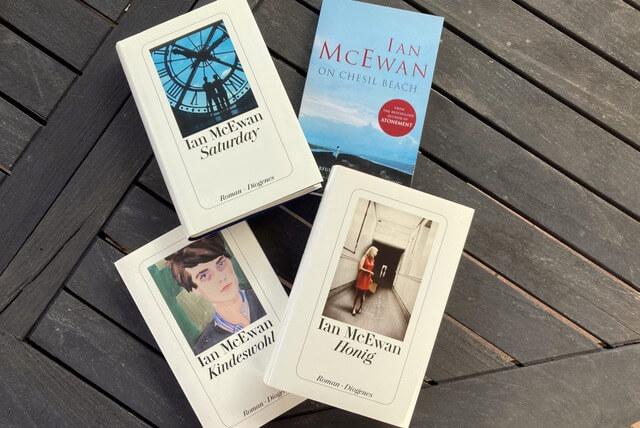 Romane von Ian McEwan: Saturday, am Strand, Kindeswohl, Honig