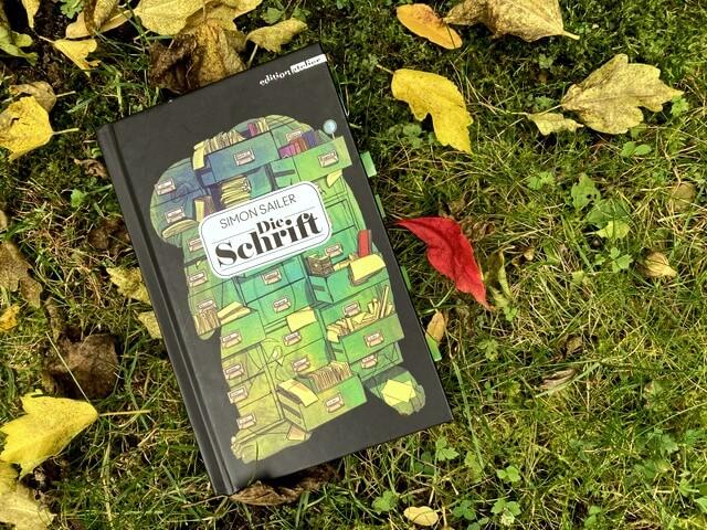 Simon Sailer: Die Schrift, ediion atelier, Rezension