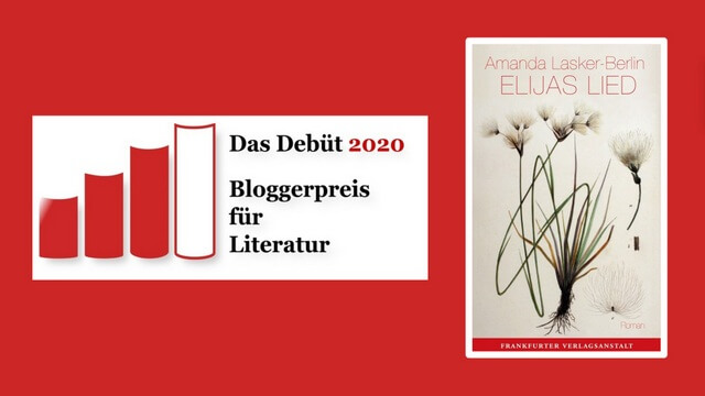 Amanda Lasker-Berlin, Rezension, Elijas Lied. Frankfurter Verlagsanstalt, Debuetroman
