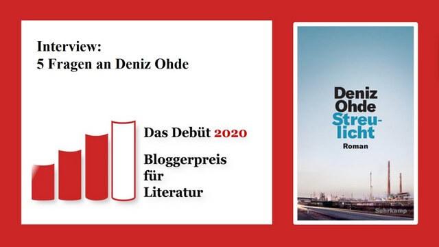 Deniz Ohde: Streulicht, Interview,