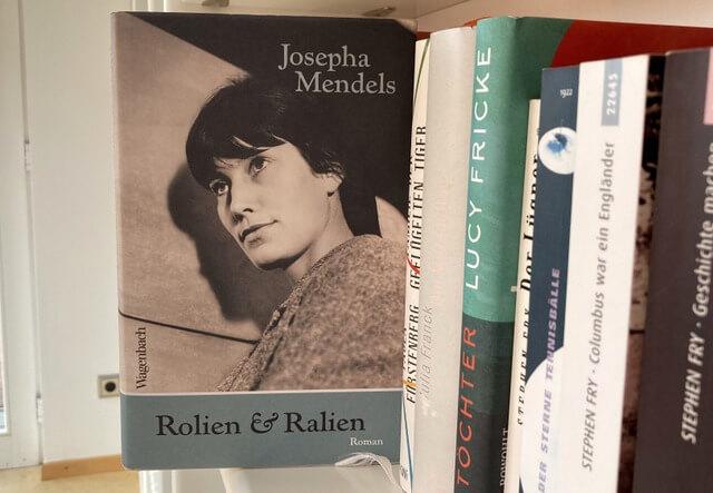 Josepha Mendls: Roline & Ralien, #Autorinnenschuber, Wagenbach